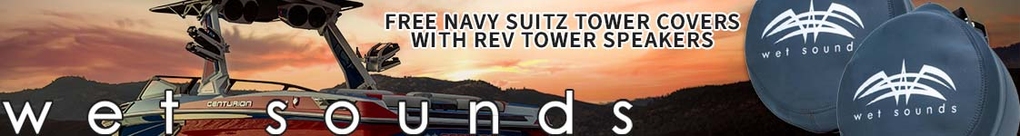 Wet Sounds Navy Suitz with REV Tower Speakers!